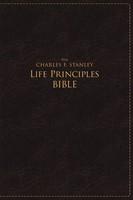 NASB Charles F. Stanley Life Principles Bible, Large Print (Imitation Leather)