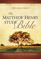 KJV Matthew Henry Study FS/Br/Ta (Hard Cover)