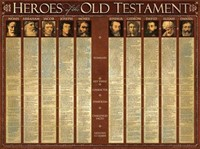 Heroes Of The O.T.  (Laminated)   20x26 (Wall Chart)