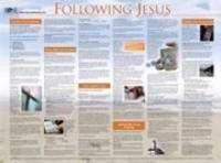 Following Jesus (Laminated)   20x26 (Wall Chart)