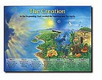 Creation Wall Chart  (Laminated)  20x26 (Wall Chart)