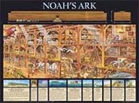 Noah's Ark (Laminated)   20x26 (Wall Chart)