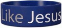 Wide Silicone Wristband: LikeJes