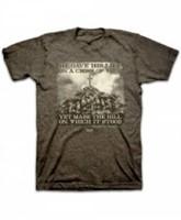 T-Shirt Cross of Wood     MEDIUM