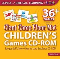 Giant Game Floor Mat Games CD-Rom