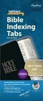 Bible Index Tabs Mini Gold - Catholic