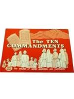 Ten Commandments Colouring Book