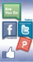 Are You On Facebook / Twitter (Pack of 25)