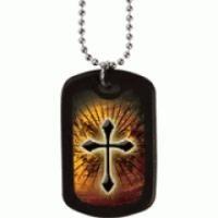 Faith Tag Dog Tag The Cross