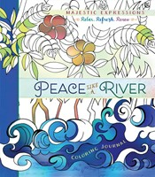 Peace Like A River Colouring Journal (Paperback)