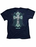 Cherished Girl T-Shirt Amazing Grace Cross Adult Small