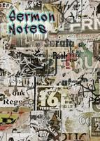 Sermon Notes: Graffiti Cover