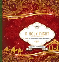 O Holy Night Adult Coloring Book
