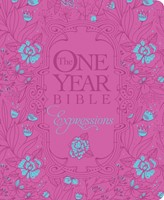 NLT One Year Bible Expressions, The - HB Leatherlike