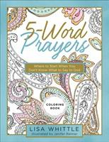 5-Word Prayers Coloring Book