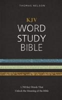 KJV Word Study Bible, HB (Hard Cover)