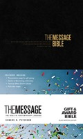 Message Gift and Award Bible, The Black