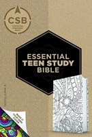 CSB Essential Teen Study Bible, Personal Size, Make-It-Your- (Imitation Leather)