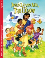 Jesus Loves Me, This I Know Colouring & Activity Book