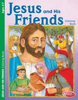 Jesus and His Friends Colouring Activity Book