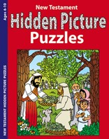 New Testament Hidden Picture Puzzles Activity Book