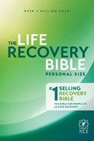 NLT Life Recovery Bible, Personal Size (Paperback)