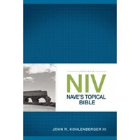 NIV Nave's Topical Bible (Paperback)