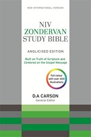 NIV Zondervan Study Bible (Anglicised) Hardcover