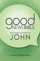 GNB Dyslexia-Friendly Gospel of John (Paperback)