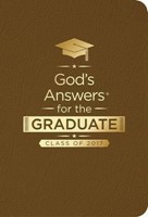 God's Answers For The Graduate: Class Of 2017-Brown