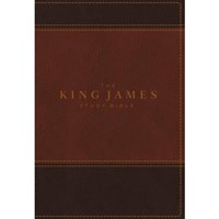 King James Study Bible, The, Full-Color Ed. (Imitation Leather)