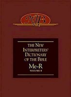 New Interpreter's Dictionary of the Bible Volume 4 - NIDB