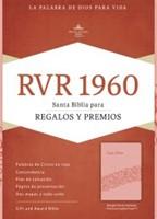RVR 1960 Biblia para Regalos y Premios, rosado símil piel (Imitation Leather)