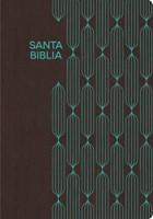 RVR 1960 Biblia para Regalos y Premios, café/turquesa símil (Imitation Leather)