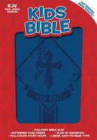 KJV Kids Bible, Royal Blue LeatherTouch (Imitation Leather)