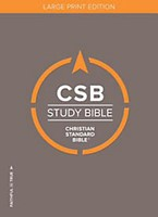 CSB Study Bible, Large Print Edition, Hardcover