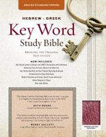 The ESV Hebrew-Greek Key Word Study Bible Burgundy