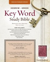 The ESV Hebrew-Greek Key Word Study Bible