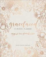 GraceLaced 17-month Planner (Hard Cover)