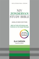 NIV Zondervan Study Bible (Anglicised) Bonded Leather