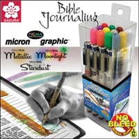 Bible Journaling 17 Piece Set - Micron/GellyRoll
