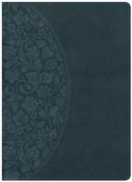 NKJV Holman Study Bible, Large Print, Dark Teal (Imitation Leather)