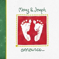 Christmas Tract: Birth Announcement