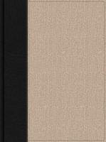 HSCB Apologetics Study Bible For Students, Black/Tan Cloth