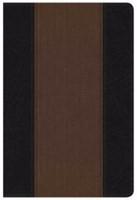 NKJV Summary Bible, Black/Brown (Imitation Leather)
