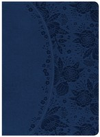 NKJV Holman Study Bible, Indigo Leathertouch, Indexed