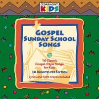 Cedarmont Kids: Gospel Sunday School Songs Cd- Audio