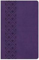 KJV Ultrathin Reference Bible, Value Edition, Purple