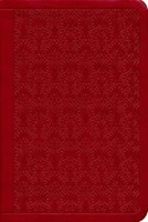 ESV Value Compact Bible Trutone, Ruby, Vine Design