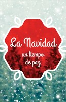 Christmas: A Time For Peace (Ats) (Spanish, Pack Of 25) (Tracts)